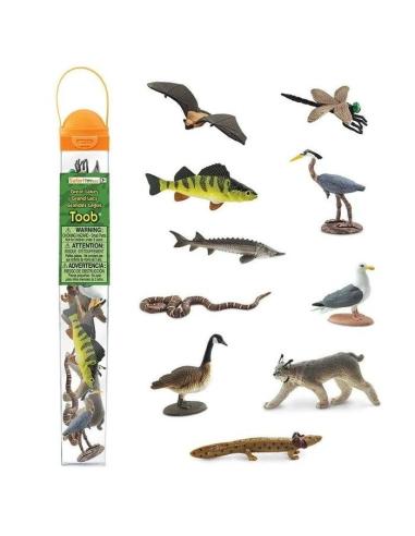 Figurines Grands Lacs - Tube Safari Ltd® 100264 Safari Ltd® {PRODUCT_REFERENCE}  Tubes et Toob® - 4