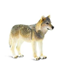 chien loup gris europe amerique figurine educative enrichissement montessori educatif collection jouet geographie collection