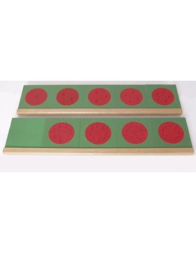 Fraction support matériel Matériel Montessori pedagogique didactique rangement socle