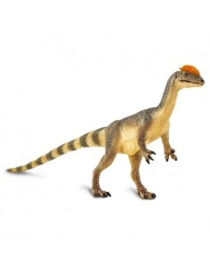 Dilophosaurus dinosaure safari figurine educative enrichissement montessori educatif collection jouet geographie collection