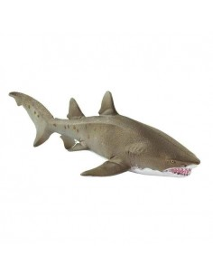 mer ocean poisson requin taureau safari figurine educative enrichissement montessori educatif collection jouet geographie dent