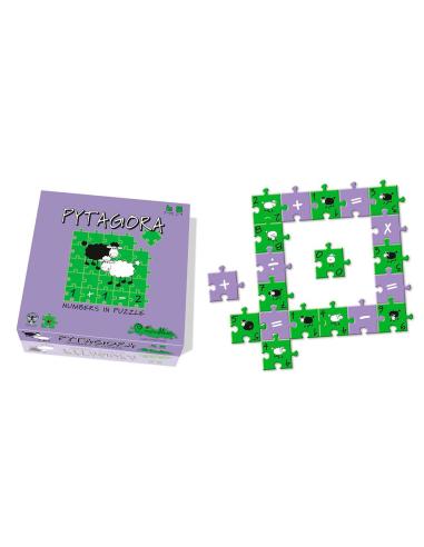 Jeu Pytagora 126 pièces - Puzzle avec additions Creativamente {PRODUCT_REFERENCE}  Jeux de maths - 2