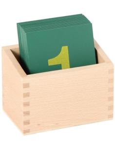 Boîte pour chiffres rugueux