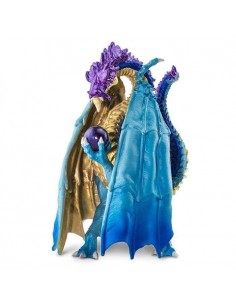 dragon sorcier magicien féerique monde fantastique gamer safari figurine mythique licorne WOW resine educatif collection jouet