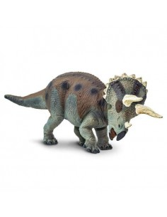 triceratops dinosaure safari figurine educative enrichissement montessori educatif collection jouet geographie collection