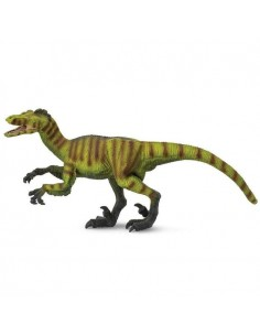 Velociraptor dinosaure safari figurine educative enrichissement montessori educatif collection jouet geographie collection