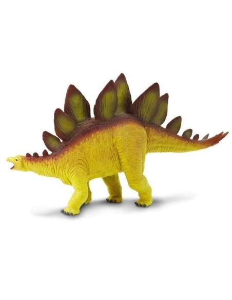 Figurine dinosaure Stégosaure Safari 30002 Matériel pédagogique Enrichissement Montessori Jouet Cartes maternelle science vocabu