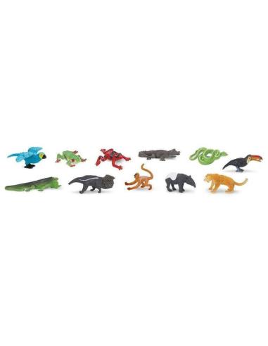 Figurines forêt tropicale - Tube Safari Ltd® 680504 Safari Ltd® {PRODUCT_REFERENCE}  Tubes et Toob® - 2