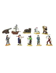 thème pirates figurine montessori piraterie safari 680804 vaisseau crochet jambe bois collection pedagogique enrichissement