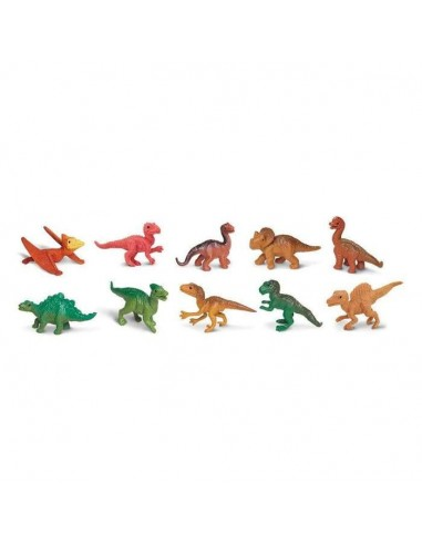 Figurines bébés dinosaures - Tube Safari Ltd® 680104 Safari Ltd® {PRODUCT_REFERENCE}  Tubes et Toob® - 2