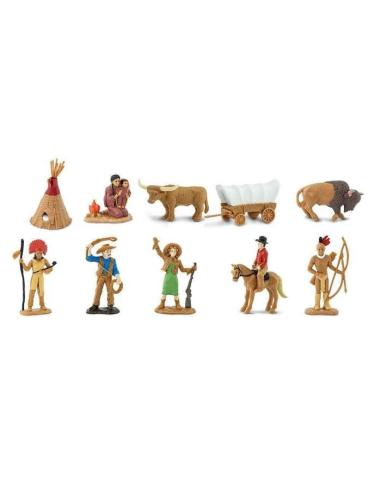 Histoire le Far West figurine educative montessori education grand ouest histoire pedagogique safari 680904