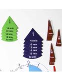 Horloges et fractions magnétiques d'apprentissage