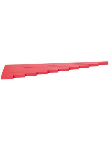 Barres rouges Montessori LesMinis Montessori 107303  Sensoriel - 3