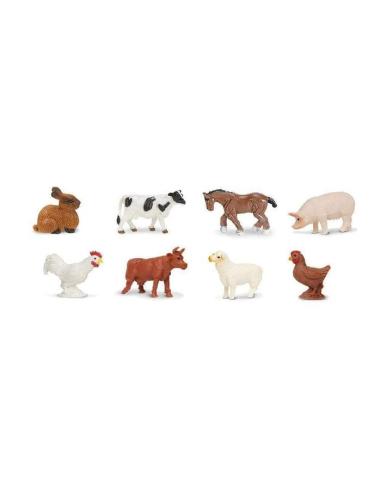 Mini figurines animaux de la ferme - Safari Ltd® 346522 Safari Ltd® {PRODUCT_REFERENCE}  Minis® - 3