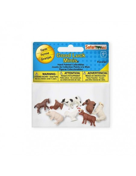 animaux ferme minis figurine safari educative pedagogique montessori enrichissement lapin vache cheval mouton poule 346522