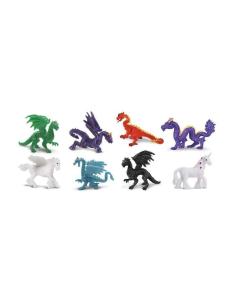 animaux fantastique figurine montessori enrichissement topping cupcake pion jeu societe remplacement dragon pegase licorne
