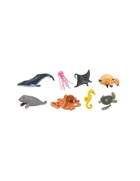 marine mer ocean baleine tortue figurine educative montessori enrichissement pedagogique safari geographie enfant maternelle
