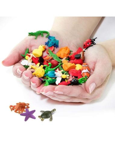 Récif corail minis figurine safari animaux miniature vente montessori materiel enrichissement continent corallien pion marin jeu