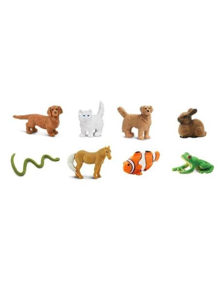 Animaux compagnie figurine educative montessori education enrichissement materiel nomenclature insecte safari sachet 100257