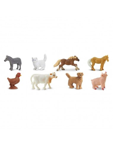 Mini figurines animaux de la ferme - Safari Ltd® 100107 Safari Ltd® {PRODUCT_REFERENCE}  Minis® - 3