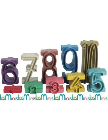 Blocs nombre perles chiffre Nature materiel pedagogique numeration montessori singapour sumblox bois eleve maternelle primaire