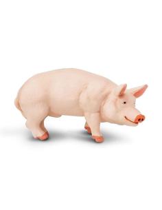 Verrat mâle cochon figurine safari enrichissement montessori pedagogique ferme jouet
