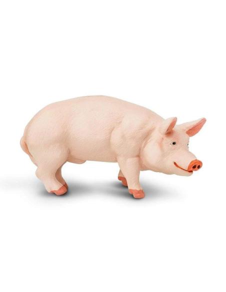 Figurine Verrat Safari 235229 Matériel pédagogique Enrichissement Montessori Jouet Cartes maternelle cochon science vocabulaire
