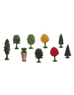 Variété arbre flore orme pin erable ecologie figurine educative montessori education pedagogique enrichissement maternelle ecole