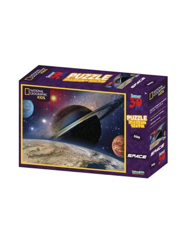 Puzzle 3D Espace planetes terre saturne mars satelite jeu educatif pedagogique maternelle ecole primaire collectivite ludothèque