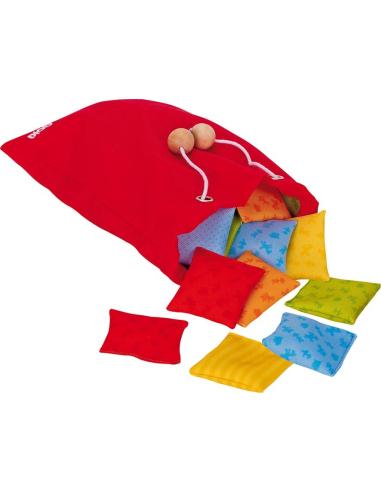Lot Coussin sensoriel materiel pedagogique educatif autocorrectif montessori toucher ouie enfant jeu societe goki orthophophonis