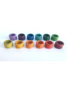 anneaux grapat jeu libre jouet bois alternative coin classe montessori steiner waldorf materiel pedagogique tri