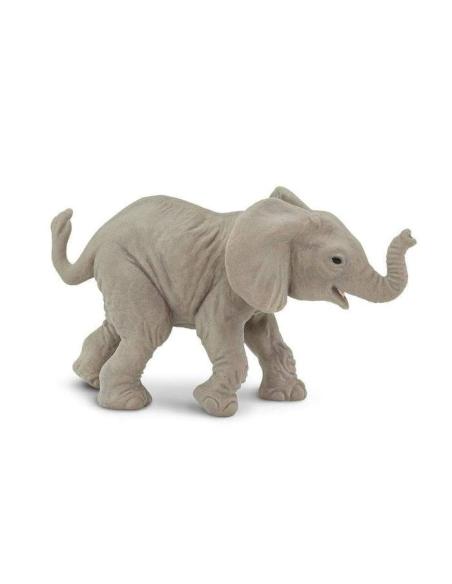 Figurine éléphant d'Afriquebébé 2 Safari 270129 Matériel pédagogique Enrichissement Montessori Jouet Cartes maternelle science