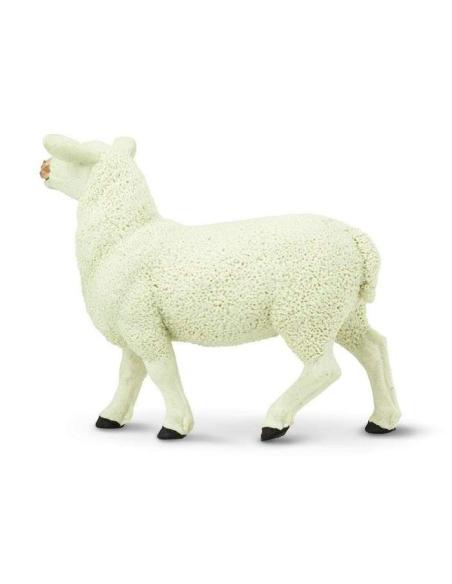 Brebis figurine safari mouton enrichissement montessori 246129 animaux ferme nomenclature pedagogique educatif plastique europe