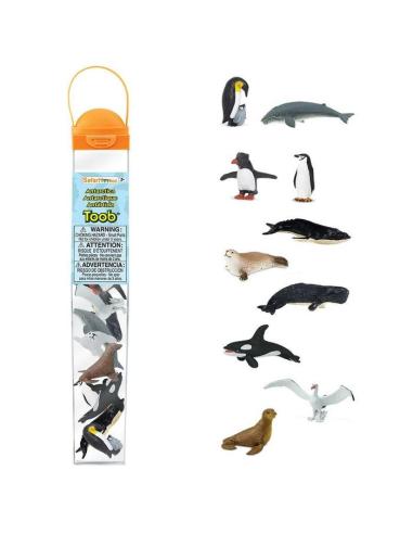 Figurines thème Antarctique - Tube Safari Ltd® 100113 Safari Ltd® {PRODUCT_REFERENCE}  Tubes et Toob® - 3
