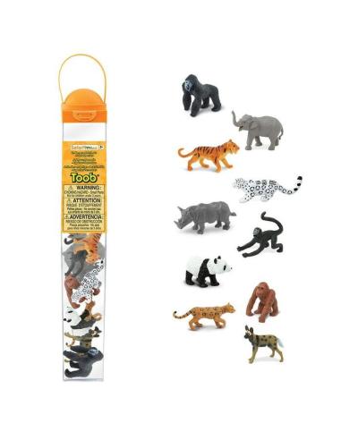 Figurines espèces menacées - Tube Safari Ltd® 100109 Safari Ltd® {PRODUCT_REFERENCE}  Tubes et Toob® - 3