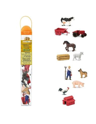Figurines vie à la ferme - Tube Safari Ltd® 682604 Safari Ltd® {PRODUCT_REFERENCE}  Tubes et Toob® - 3
