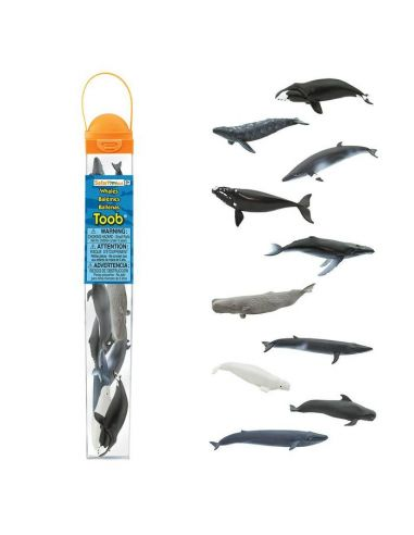 Figurines Baleines - Tube Safari Ltd® 100072 Safari Ltd® {PRODUCT_REFERENCE}  Tubes et Toob® - 4