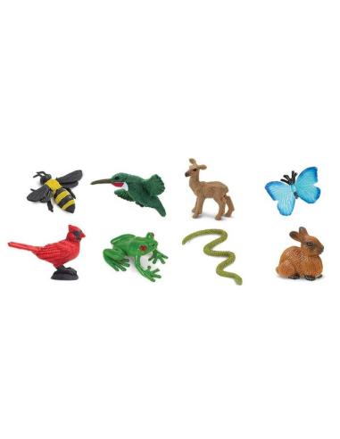 Figurines mini animaux du jardin - Safari Ltd® 100223 Safari Ltd® {PRODUCT_REFERENCE}  Minis® - 3