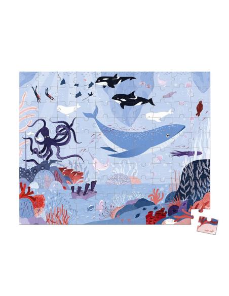 puzzle arctique animaux valisette janod 3ans 4ans materiel pedagogique educatif j02673