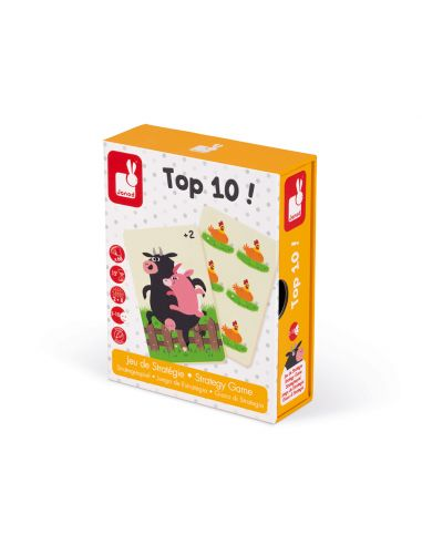 Top 10 ! Un jeu de stratégie par Janod pour s'amuser à compter jusqu'à 10 Janod {PRODUCT_REFERENCE}  Jeux de société - 5