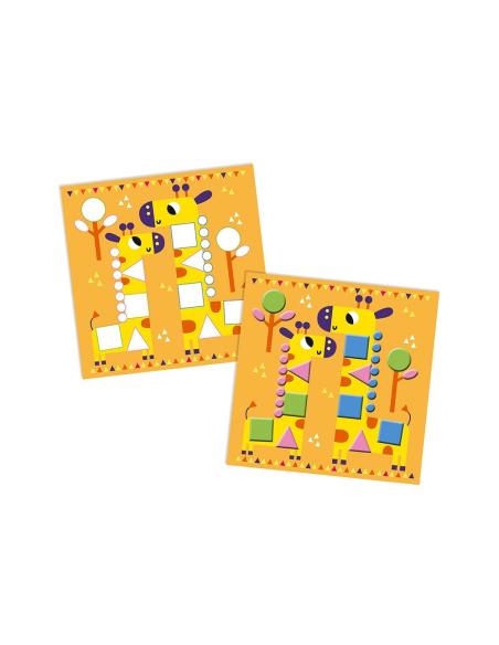 pate modeler mousse petits animaux creation janod set creatif activite manuelle cadeau enfant eleve ecole maternelle