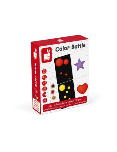 Color battle - Jeu de stratégie et discrimination visuelle - Janod Janod {PRODUCT_REFERENCE}  Jeux de maths - 5