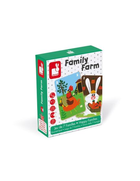jeu de 7 familles family farm mediatheque ludotheque ecole primaire maternelle centre enfant eleve animaux ferme