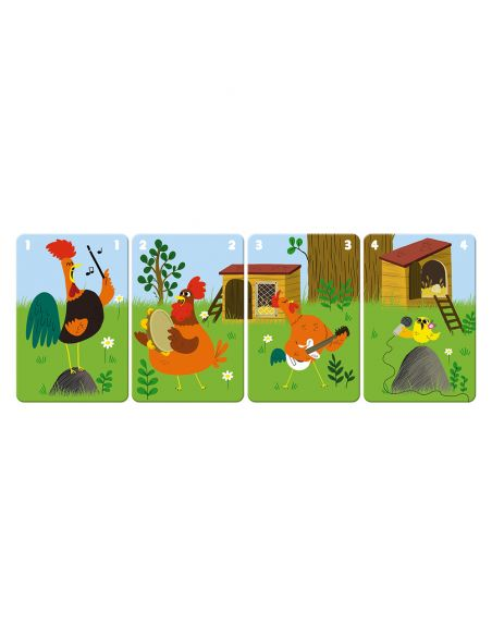 jeu de 7 familles - family farm