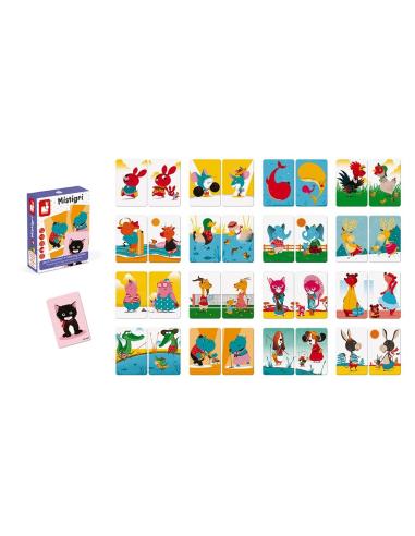 Jeu de cartes Mistigri par Janod- Association et mise en paire Janod {PRODUCT_REFERENCE}  Jeux de société - 4