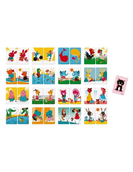 jeu d'association cartes paire mise janod j02752 cognitif langage vocabulaire phonologie oral orthophonie
