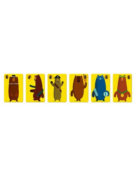 jeu bataille castagne carte chiffre animaux foret enfant ludotheque orthophoniste chiffre apprendre jouant janod j02754