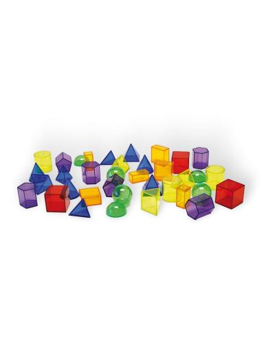 Solides géométriques transparents (36pcs) - Pour table lumineuse Tickit ® 73075  Lumières et accessoires - 7