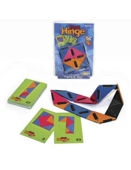 Jeu logique Ivans Hinge Combiner couleurs casse tete puzzle tdah autisme materiel educatif pedagogique
