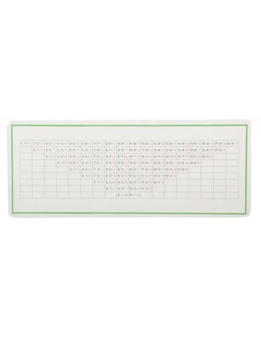 Tableau de contrôle de la soustraction Montessori LesMinis Montessori 109566  Mathématiques - 1
